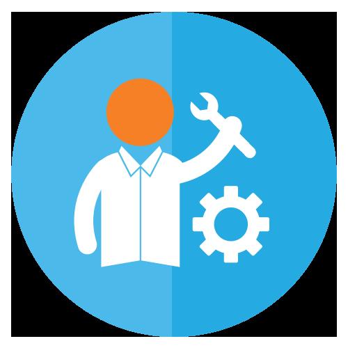 Manual tasks icon
