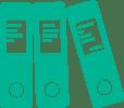 eBook Icon (HPE Green)
