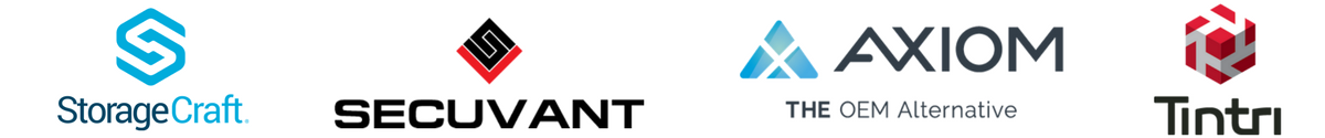 Storagecraft, Axiom, Synergy Associates, Tintri