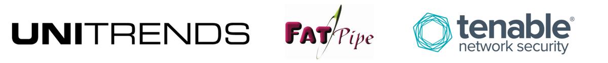 Unitrends, Fatpipe, Tenable